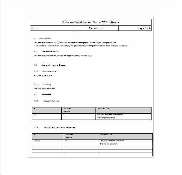 Project Plan Template Word Beautiful 23 Project Plan Template Doc Excel Pdf