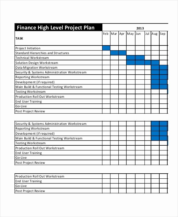 Project Plan Template Word Luxury Project Plan Template 12 Free Word Psd Pdf Documents