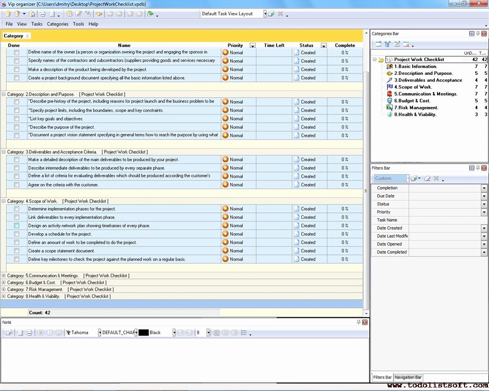 Project Work Plan Template Lovely software Deliverables Checklist Pilgaa