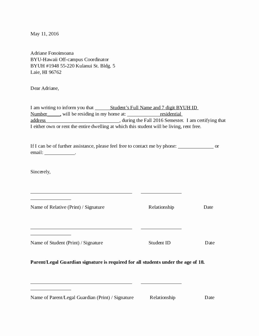 Proof Of Domicile Letter Fresh Proof Rent Letter Template Examples