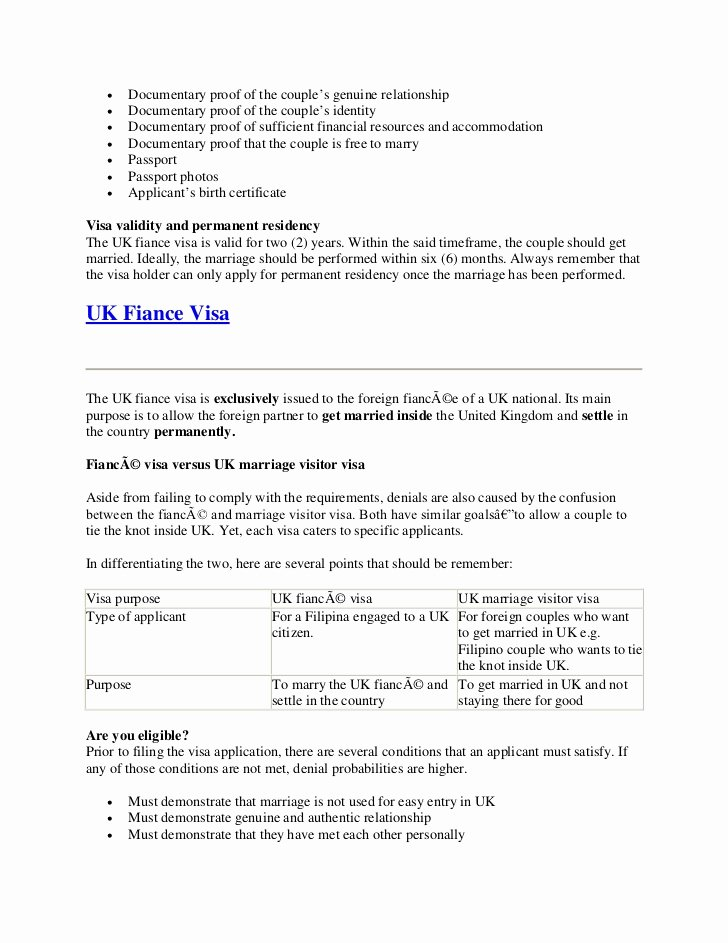Proof Of Marriage Letter for Immigration Beautiful All You Need to Know About Uk Visa and Immigration