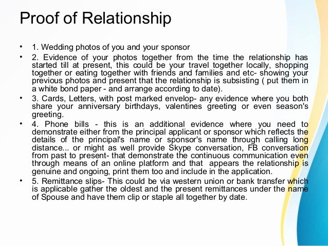 Proof Of Marriage Letter for Immigration Fresh Spouse or Partner Sponsorship In Canada