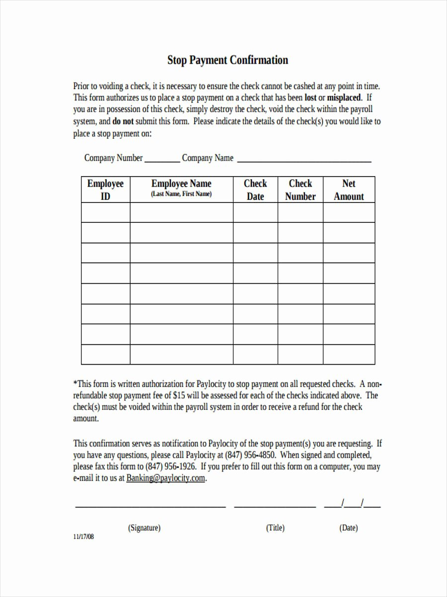 Proof Of Payment form Awesome Payment Confirmation forms 8 Free Documents In Word Pdf