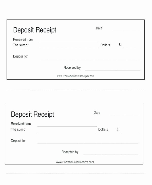 Proof Of Payment form Fresh Proof Payment Receipt