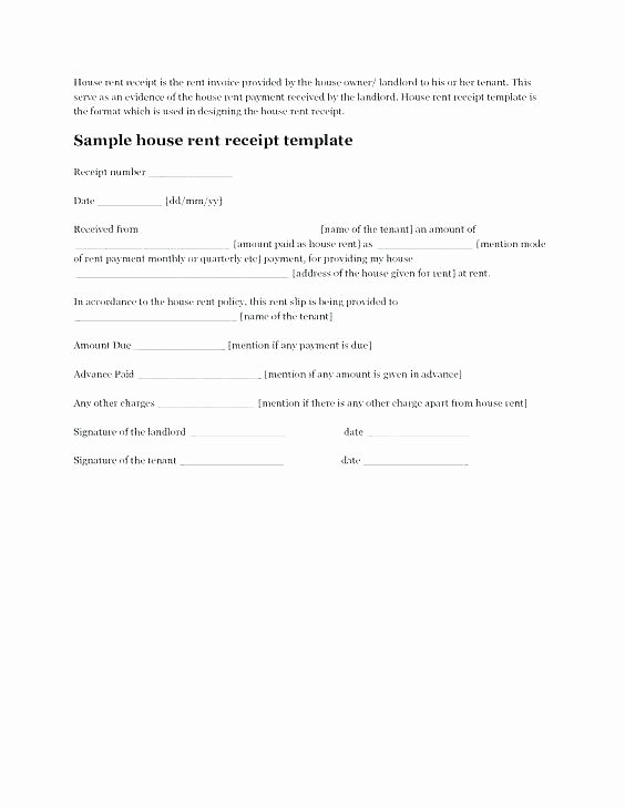 Proof Of Payment form Lovely Proof Rent Payment Letter Sample Lease Receipt form