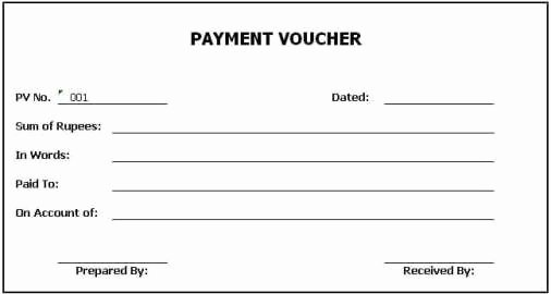Proof Of Payment forms Luxury top 5 Free Payment Voucher Templates Word Templates