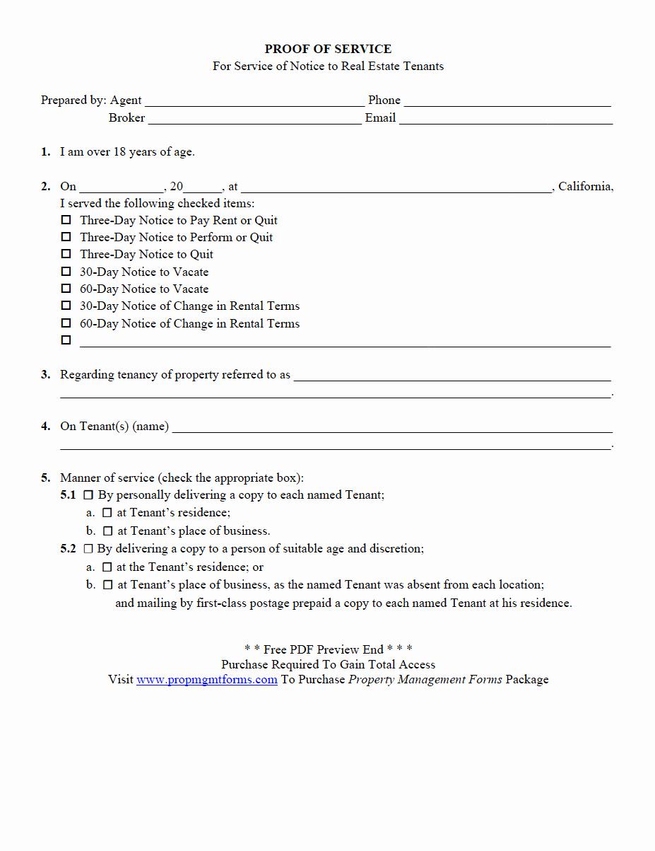 Proof Of Payment forms Unique Property Management forms