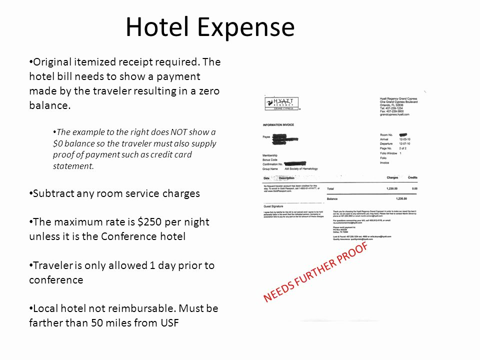 Proof Of Payment Receipt New A Travel Reimbursement From Start to Finish Ppt Video