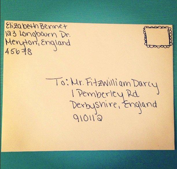 Proper Letter Envelope format Awesome Letters