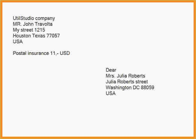 Proper Letter Envelope format Elegant Letter Envelope Address format – thepizzashop