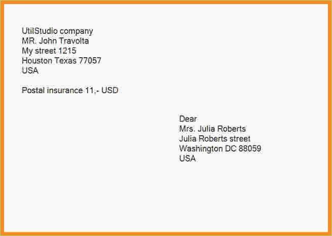 Proper Letter Envelope format Inspirational Proper Letter Envelope format – thepizzashop
