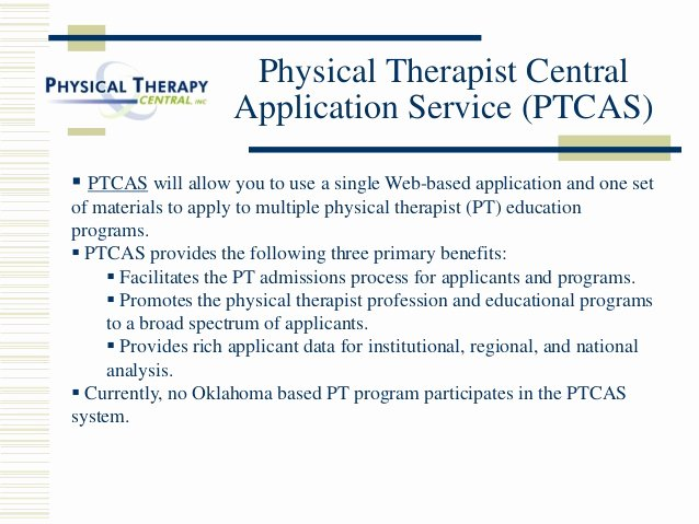Ptcas Letter Of Recommendation Beautiful A Career In Physical therapy