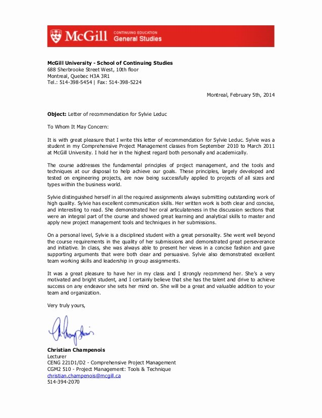 Ptcas Letter Of Recommendation Lovely Letter Of Re Mendation for Pt School Parlo Buenacocina