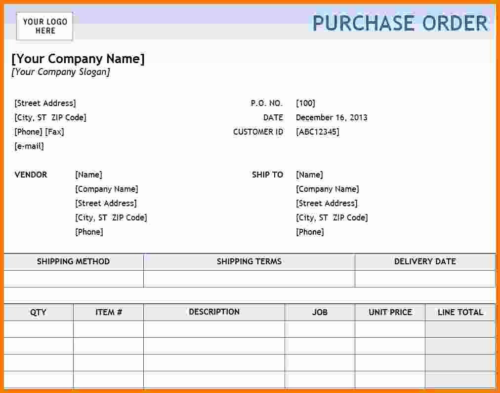 Purchase order Word Template Best Of Purchase order Template Pdf format In Word Daily Roabox