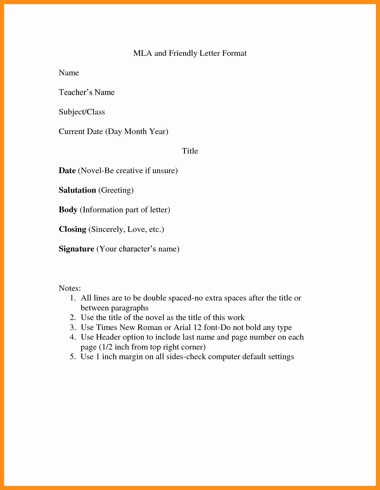 Purdue Owl Letter format Luxury Friendly Business Letter format