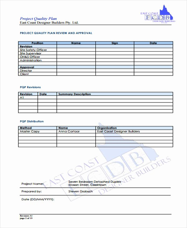 management plan template pdf