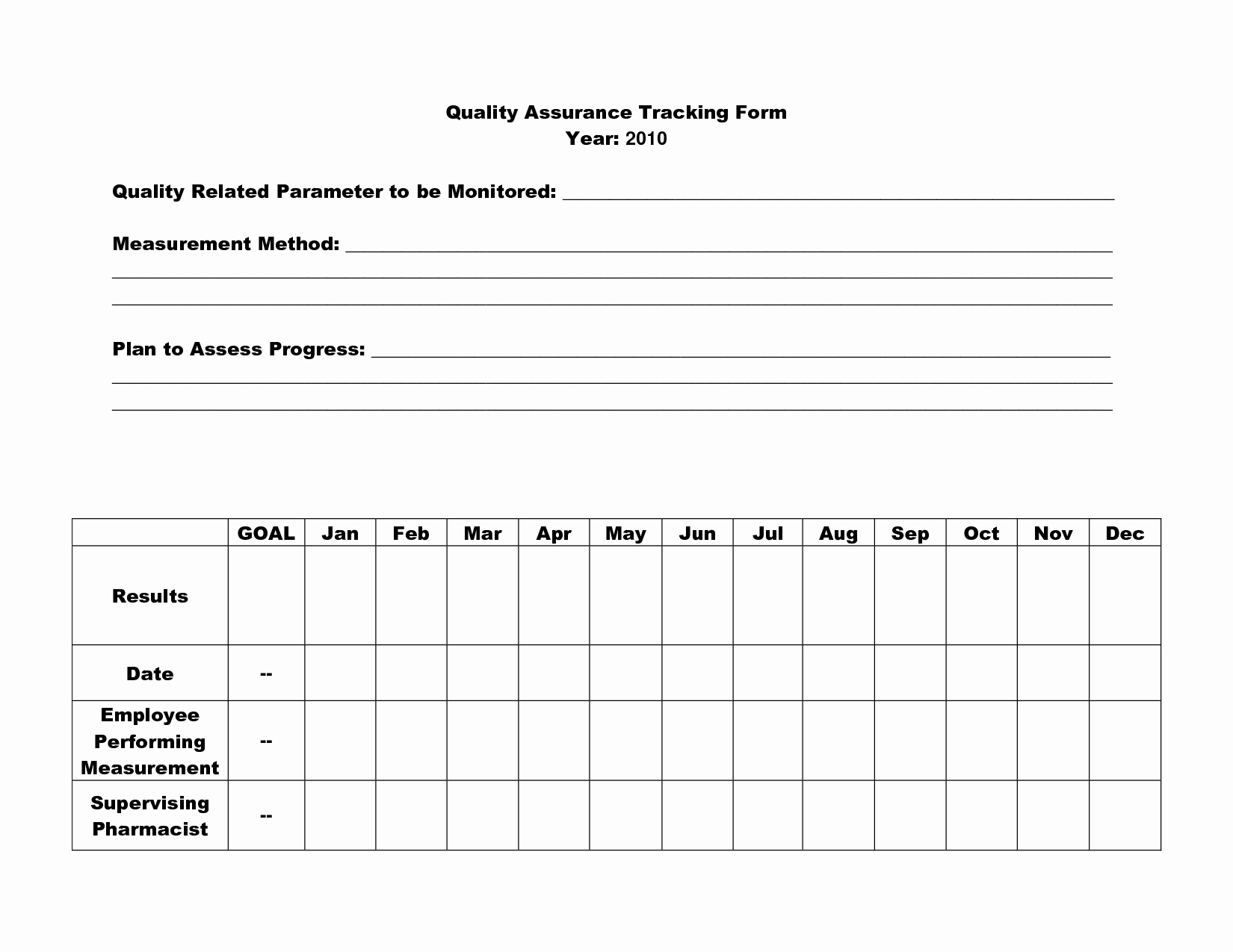 Quality Improvement Plan Template Inspirational 16 Best Of Quality assurance Worksheet Nursing