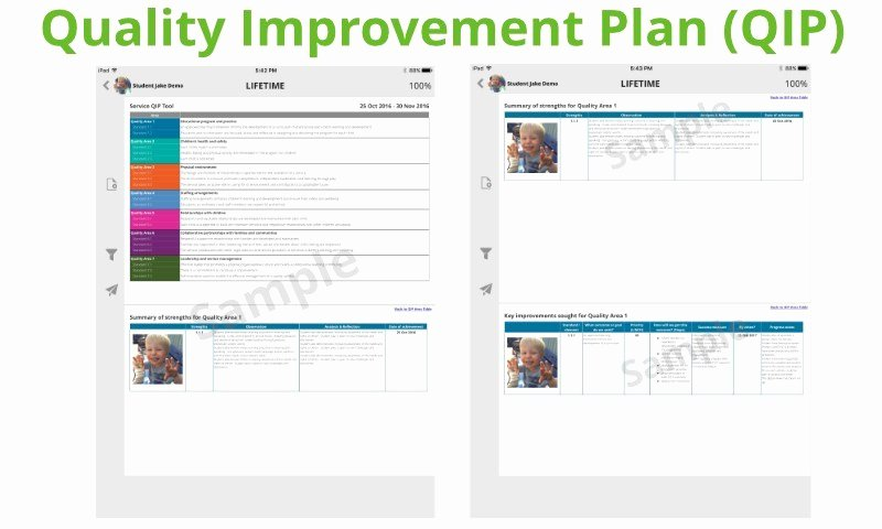 Quality Improvement Plan Template Inspirational Upgrademe Package