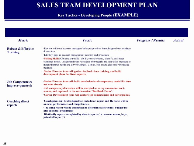 Quarterly Action Plan Template Awesome Example Global Sales & Marketing Business Plan