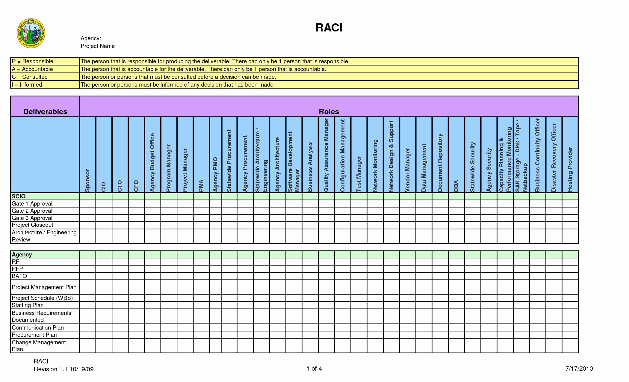 Raci Template Xls Fresh Raci Matrix format to Pin On Pinterest Pinsdaddy
