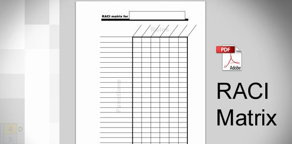 Raci Template Xls New Download Raci Template In Pdf