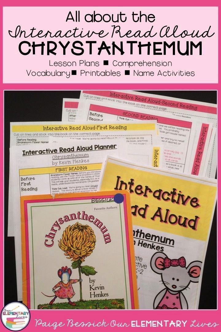 Read Aloud Lesson Plan Template Beautiful 24 Best Interactive Read Aloud Images On Pinterest