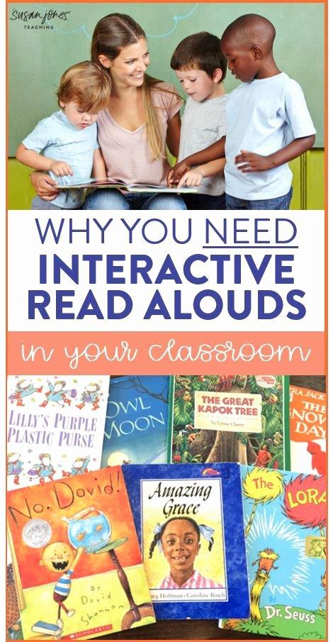 Read Aloud Lesson Plan Template Best Of Best 25 Interactive Read Aloud Ideas On Pinterest