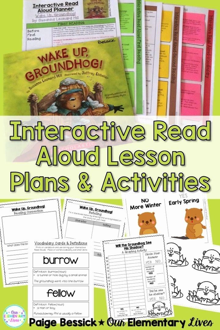Read Aloud Lesson Plan Template Fresh 25 Best Ideas About Interactive Read Aloud On Pinterest