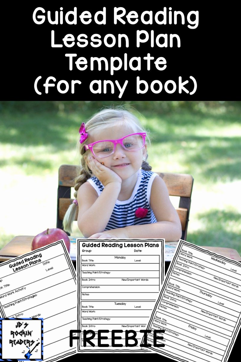 Reading Lesson Plan Template Fresh Guided Reading for Primary Grades with A Freebie Jd S