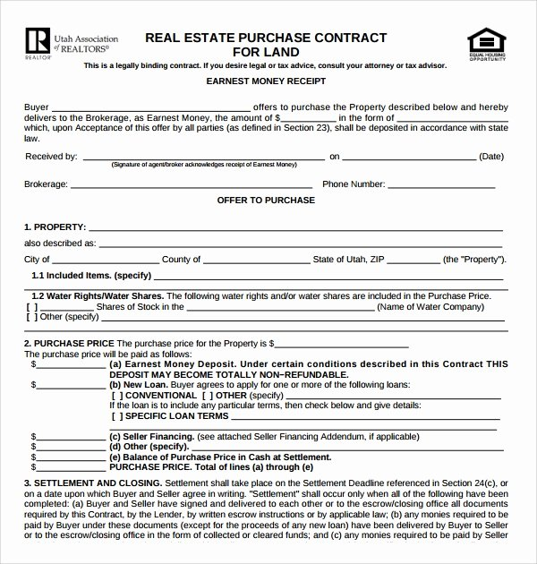 Real Estate Buyout Agreement Beautiful 14 Sample Real Estate Purchase Agreement Templates