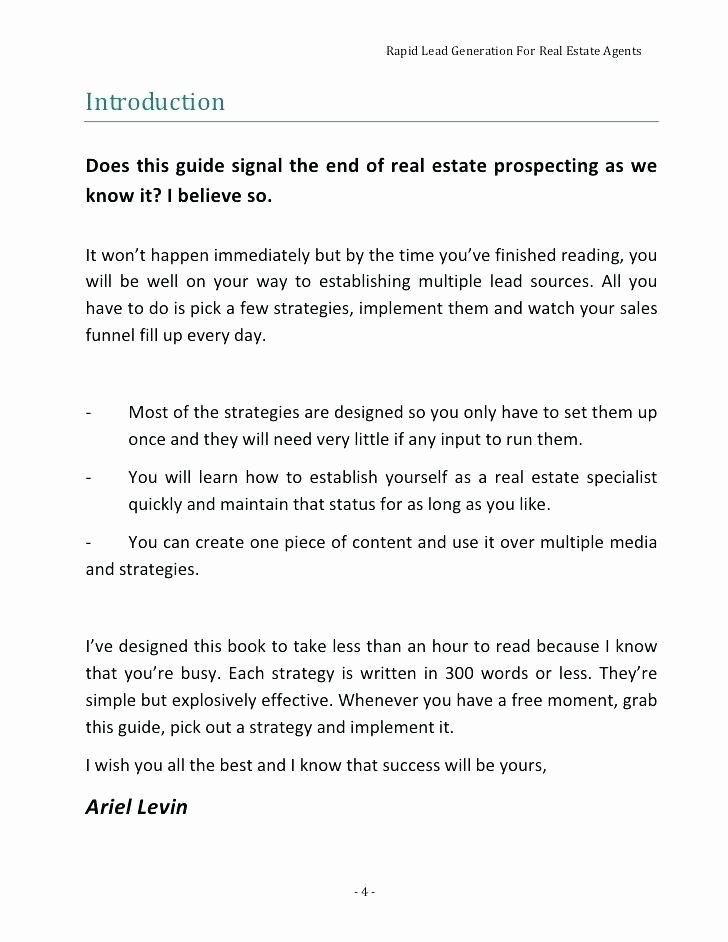 Real Estate Investor Letter Templates Inspirational 12 13 Real Estate Marketing Letter Sample