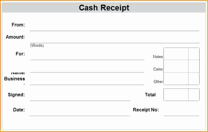 Receipt for Cash Payment Beautiful Sample Receipts Payment Sample Receipts for Rent