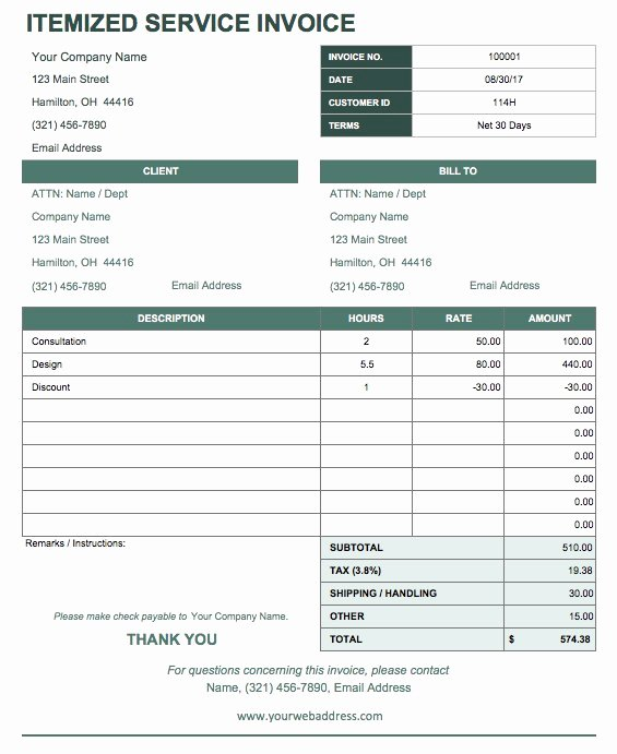 Receipt for Service Template Fresh 13 Free Business Receipt Templates Smartsheet