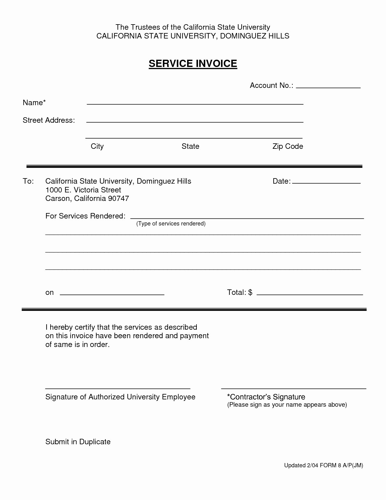 Receipt for Services Rendered New Invoice for Services Rendered Invoice Template Ideas