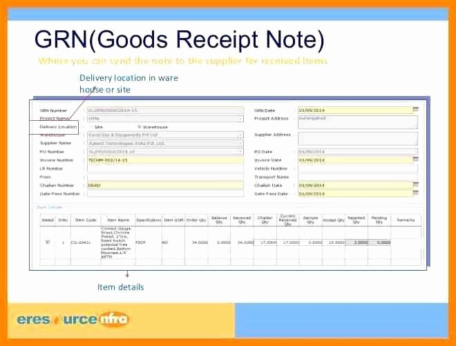 Receipt Of Goods form Luxury Goods Receipt form Pics – Receipt Of Goods Pablopenantlyco