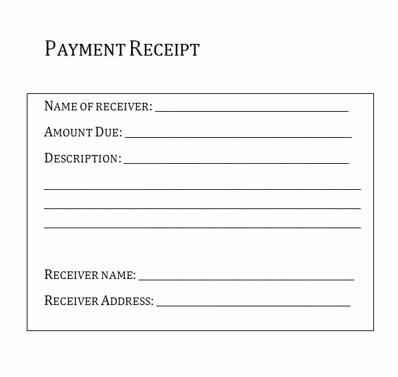 Receipt Of Goods form New Proof Delivery form Template Free Proof Delivery