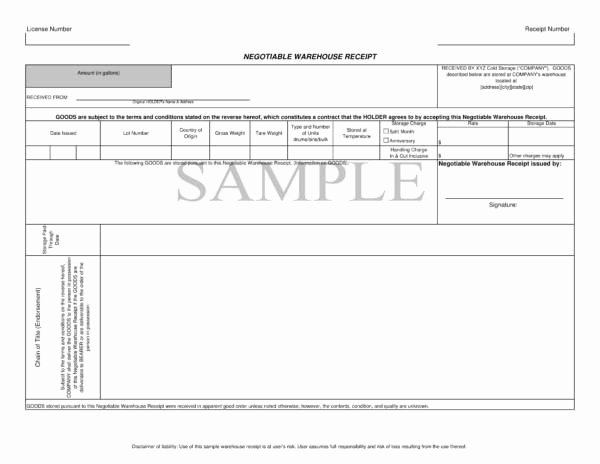 Receipt Of Goods Template New 10 Goods Receipt Templates – Pdf Word Excel