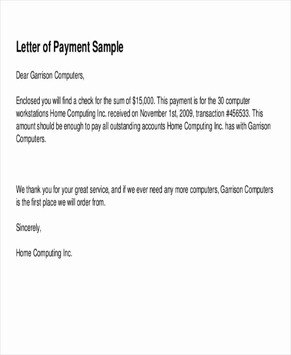 Receipt Of Payment Letter Fresh 7 Sample Payment Receipt forms Free Sample Example