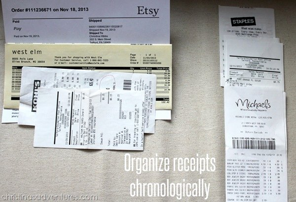 Receipt organizer for Small Business Best Of organize Small Business Taxes Plus Free Printables