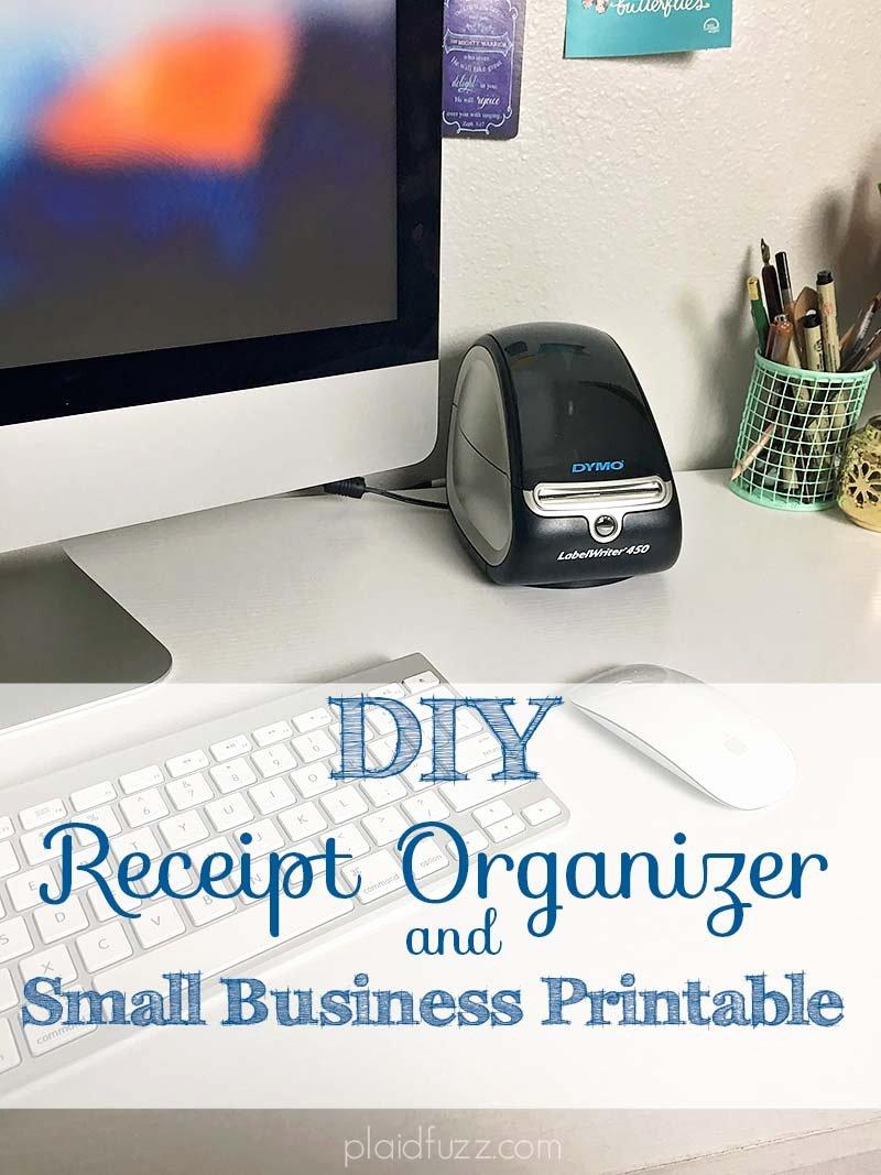 Receipt organizer for Small Business Fresh Diy Receipt organizer and Free Small Business Printable