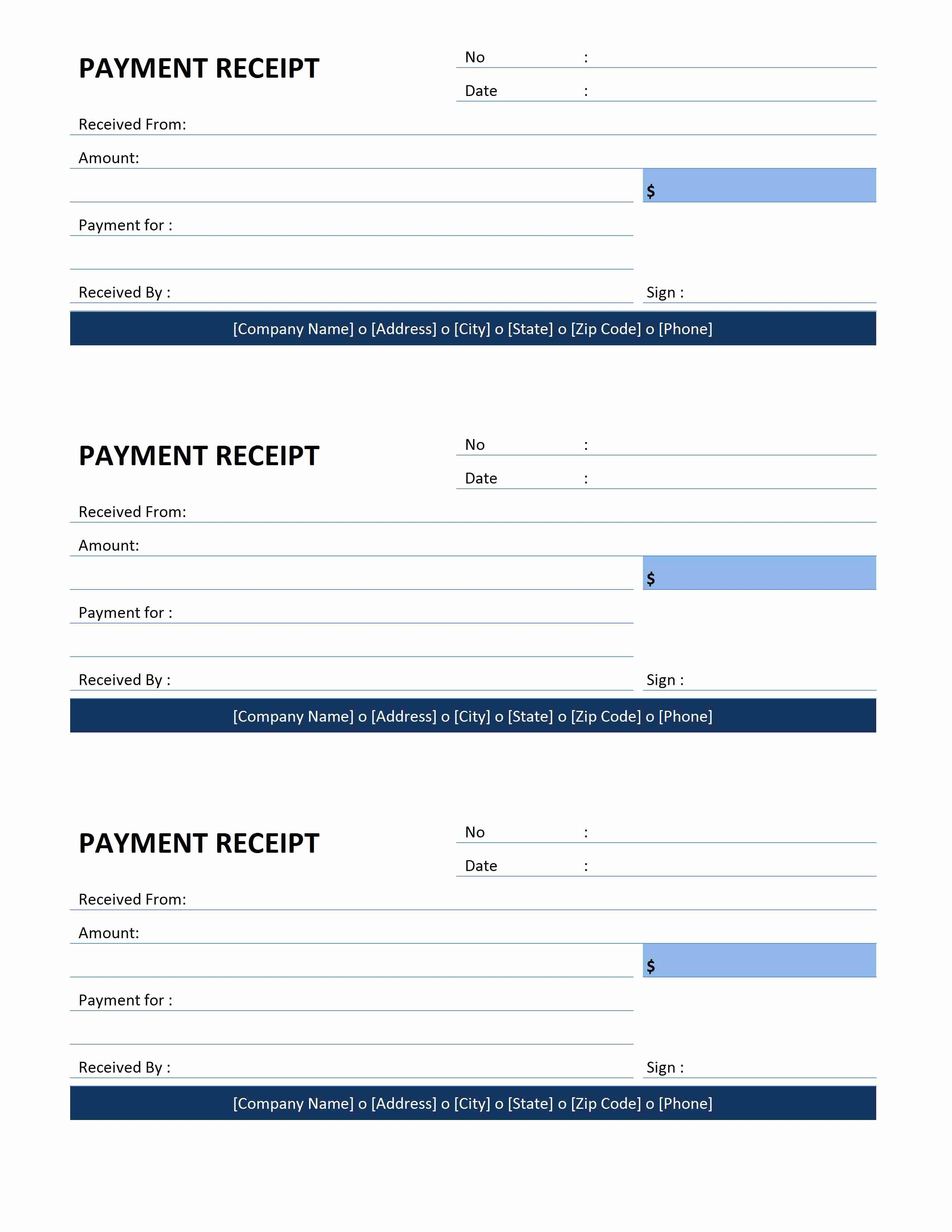 Receipts for Rental Payments Elegant Payment Receipt