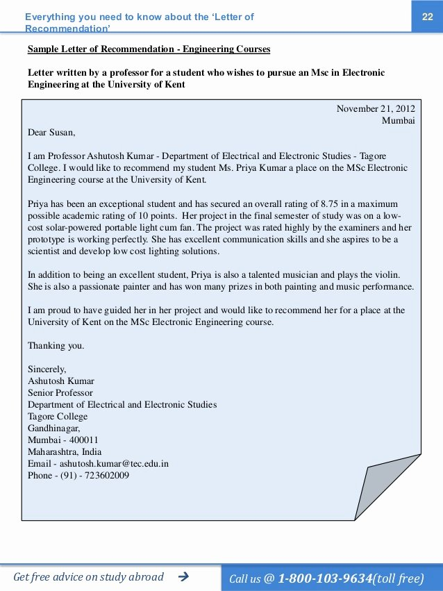 Recommendation Letter Computer Science Elegant the Ultimate Guide to Ting the Perfect Letter Of