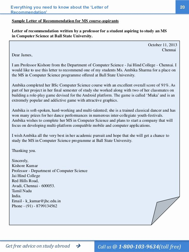 Recommendation Letter Computer Science Fresh the Ultimate Guide to Ting the Perfect Letter Of