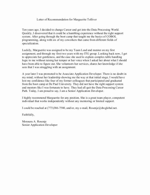 Recommendation Letter for A Coworker Lovely 15 Co Worker Letter Of Re Mendation Steamtraaleren
