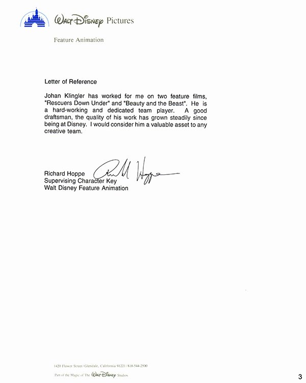 Recommendation Letter for A Coworker New Letters Of Re Mendation From Colleagues On Behance