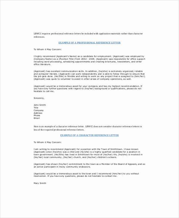 Recommendation Letter for Coworker Pdf Elegant Sample Letter Of Re Mendation for Coworker 5 Examples