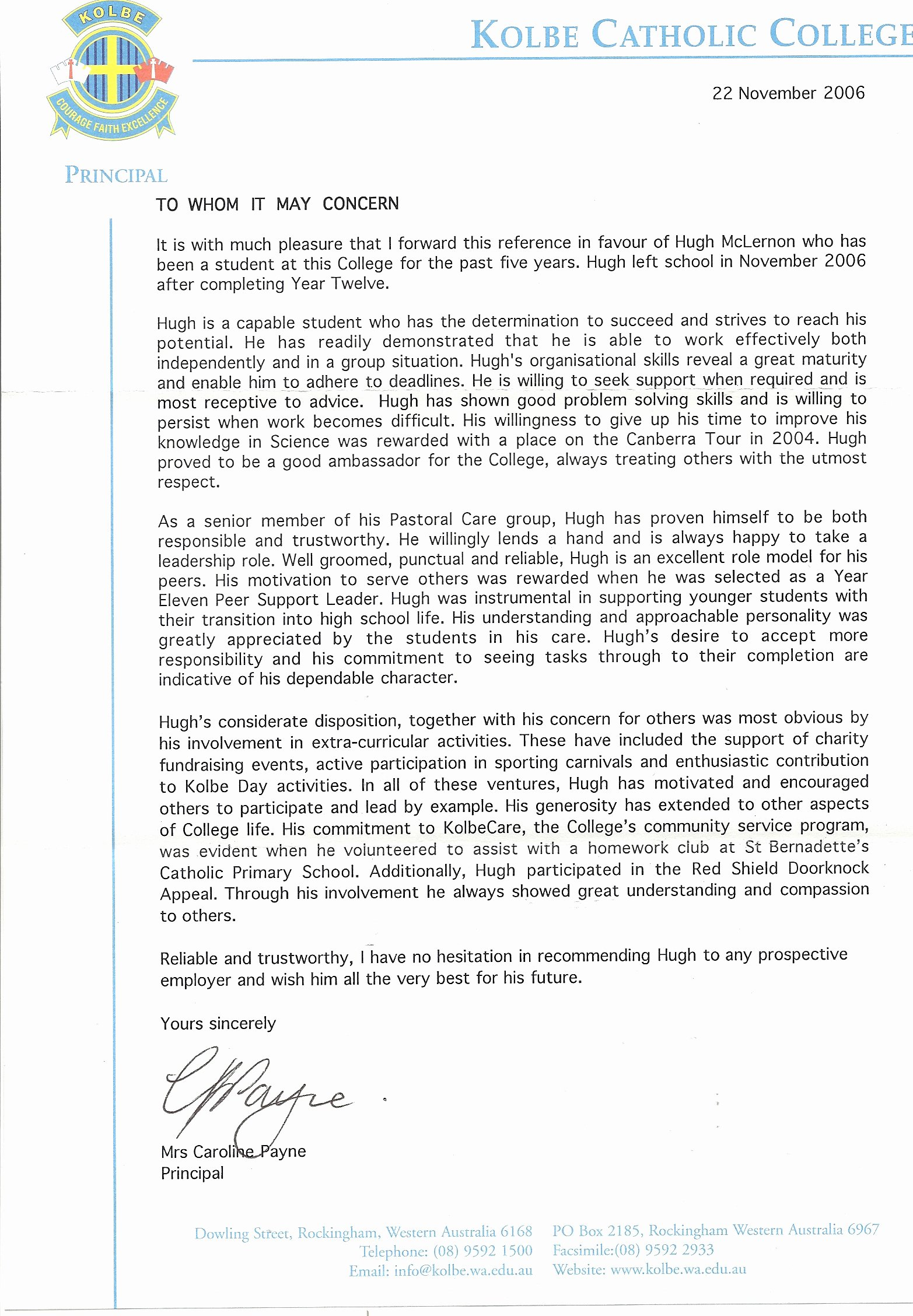 Recommendation Letter for Dental School Beautiful Academic Transcripts Certificates