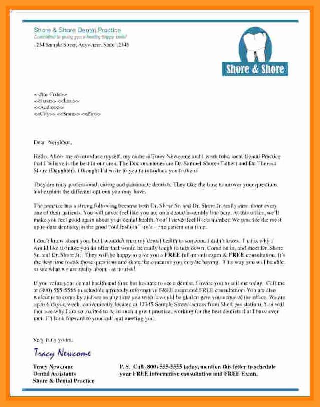 Recommendation Letter for Dental School Fresh Dental School Re Mendation Letter