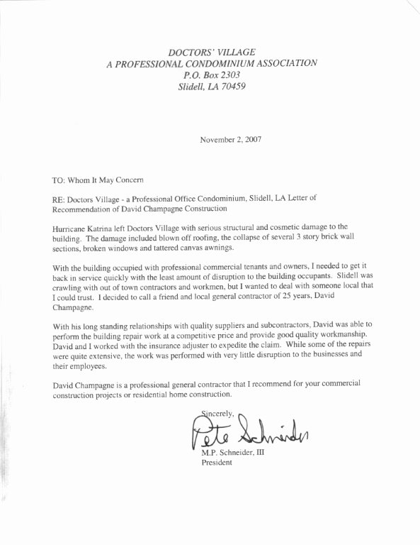 Recommendation Letter for Doctor Fresh Letters Of Re Mendation