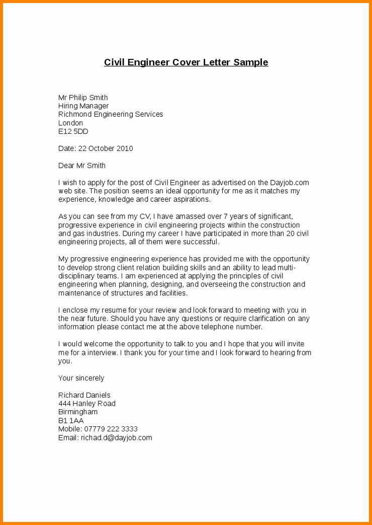 Recommendation Letter for Engineer Elegant Re Mendation Letter for Civil Engineer From Employer